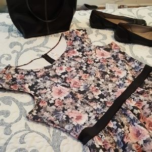 Fun flirty cap sleeve dress for summer